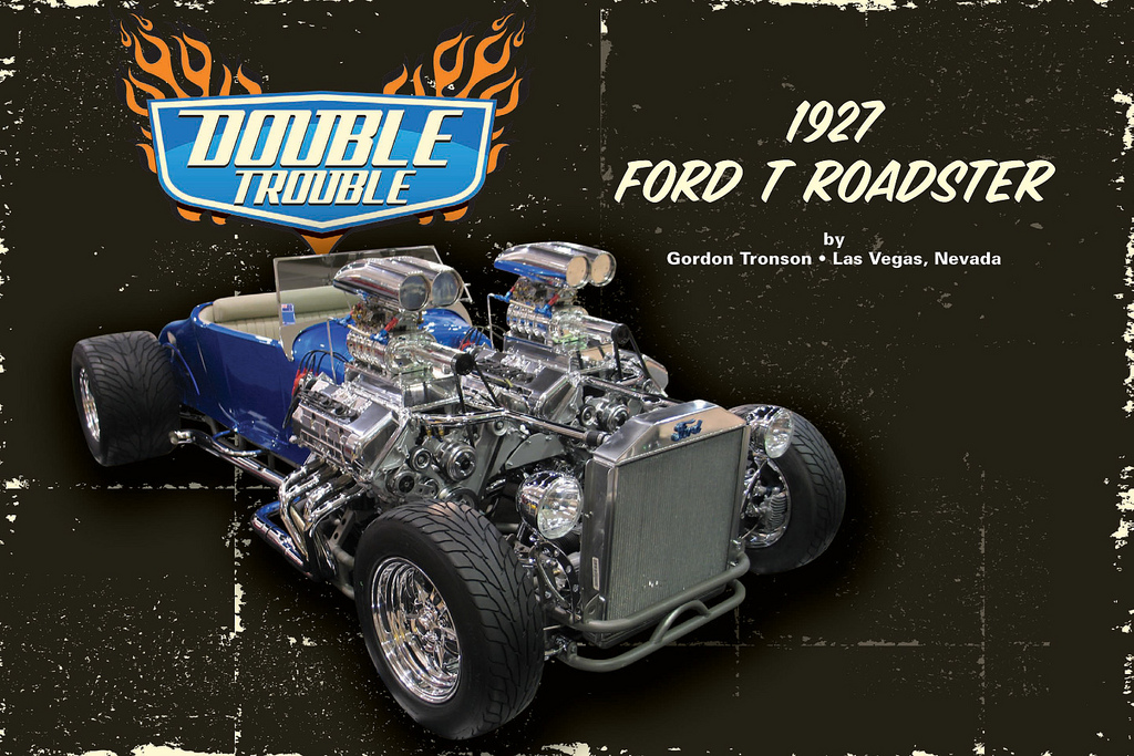 Double Trouble 1927 Model T Roadster